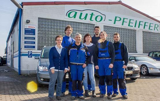 Das Team von Auto Pfeiffer